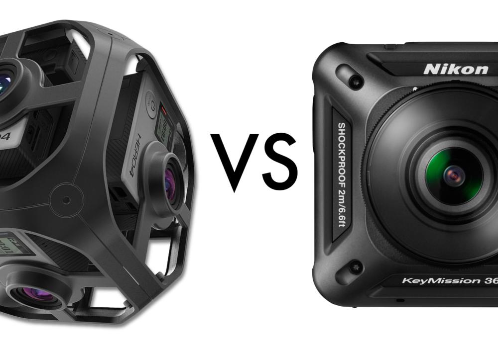 GoPro Omni Versus Nikon KeyMission 360 Camera Shootout