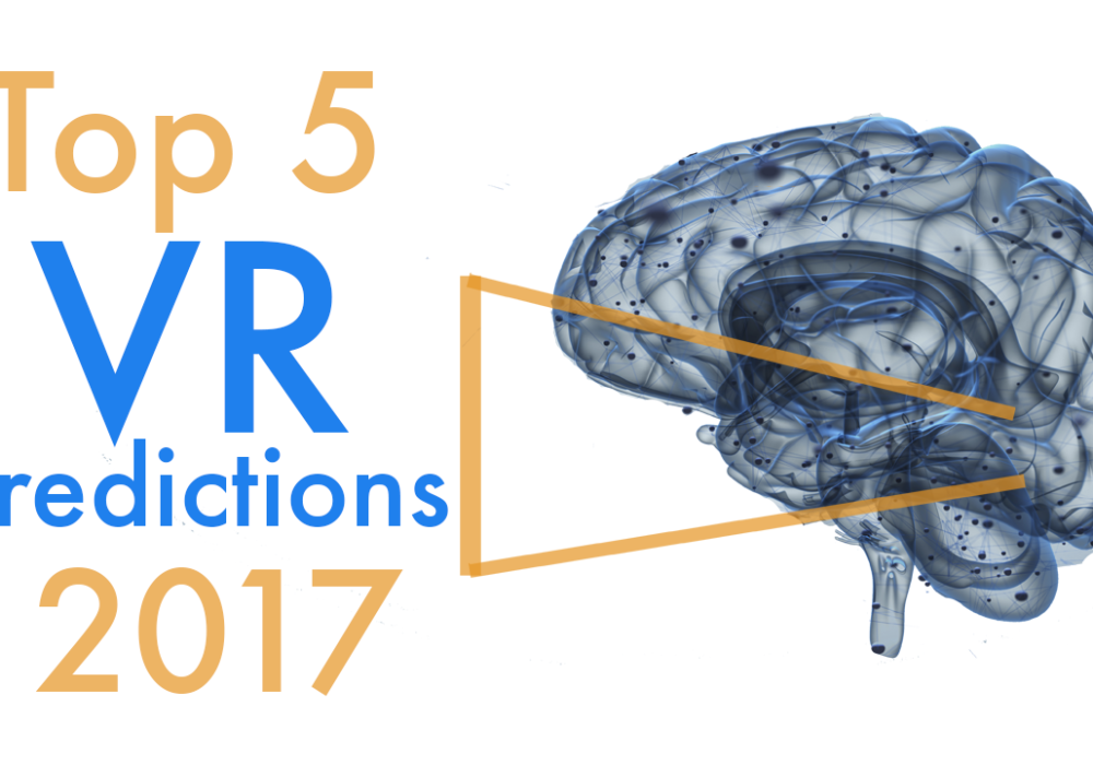 Top 5 predictions for VR in 2017